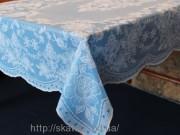 Скатерть виниловая (цветная) 75х120см(101/11)