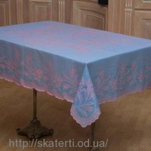 Скатерть виниловая (цветная) 120х150см(103/15)