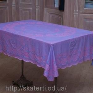 Скатерть виниловая (цветная) 120х150см(103/19)