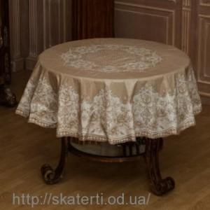 Клеёнка круглая на стол 180 см (111/5)
