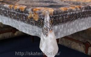 Скатерть силиконовая 120х165см(3501/4)