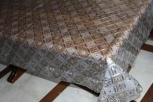 Скатерть силиконовая метражная 110х140см(5463/1)