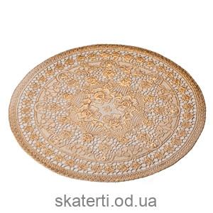Салфетка малая диаметр 38см (521-16BG-1)