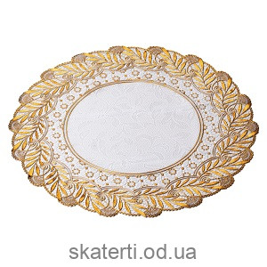 Салфетка малая диаметр 38 см(521-120WG)