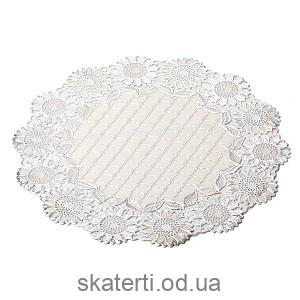 Салфетка малая круглая 38см (521-101BS)