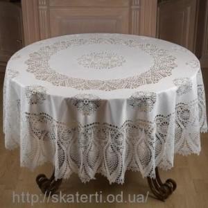 Скатерть на стол круглая 180см(208)