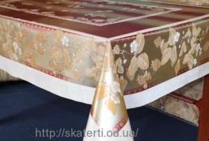 Скатерть силиконовая метражная 120х150(3701/4)