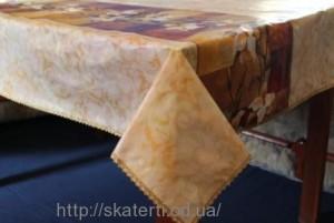 Скатерть виниловая GOLD LINE 150х230см(3221/1)