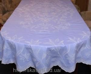 Скатерть виниловая (цветная) 150х230см.овал(113/4)