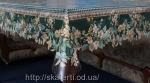 Скатерть силиконовая для кухонного стола 120х150см(3401/6)
