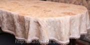 Скатерть тканевая полиэстер 135х180см.овал(284/11)