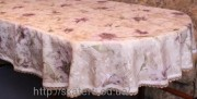 Скатерть тканевая полиэстер 135х180см.овал(284/18)
