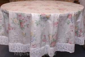 Клеёнка скатерть на стол диаметр 180см(3016/1)