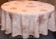 Скатерть тканевая полиэстер круг 180см(2816/3)