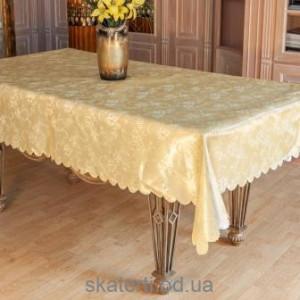 Скатерть на стол однотонная 120х150см(2713/9)