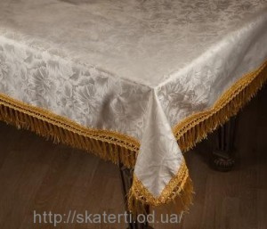 Скатерть тканевая ДАНА 120х150 см(2742/2)