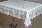 Скатерть полупрозрачная 120х150 см(3182)