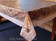 Скатерть силиконовая с бахромой