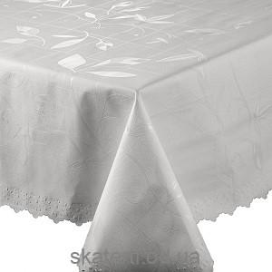 Скатерть в рулоне на текстильной основе ПерлВайт 1.4х20м (5478)