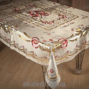 Скатерть на текстильной основе ТОСКАНА 140х180см-3-ZY015D