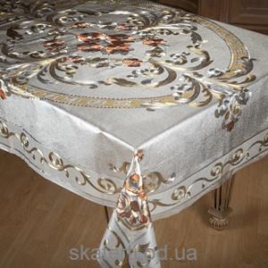 Скатерть на текстильной основе ТОСКАНА 140х180см-1-ZY013C
