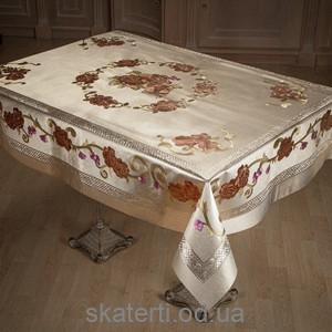 Скатерть на текстильной основе ТОСКАНА 115х150см-22 (ZY021F)