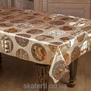 Скатерть в рулоне Тоскана цветная (54742-3G)(5090 A-3)