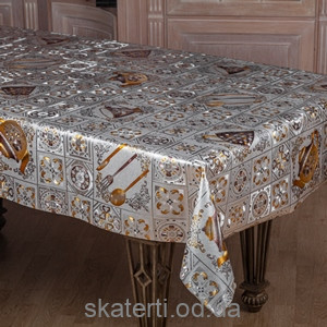 Скатерть в рулоне Тоскана цветная (54742-1S)(5076 B-3)